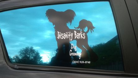 insanity barks mobile dog grooming services